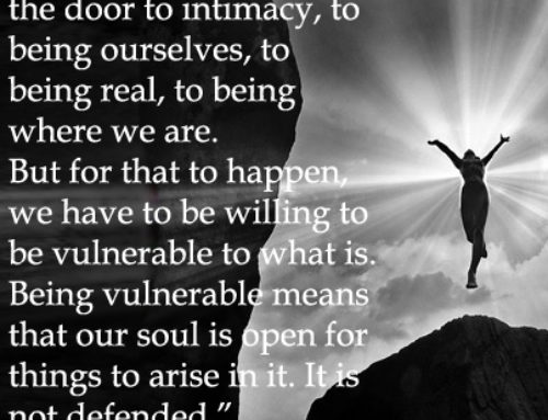 Vulnerability: the door to being your real self