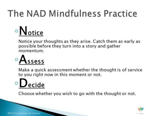 Reduce Mental Stress with the NAD Mindfulness Practice