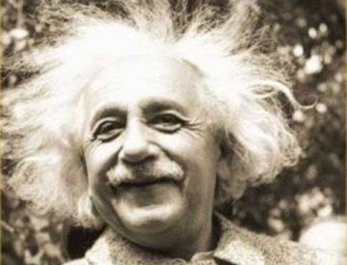 Irony of buying Einstein's advice on happiness