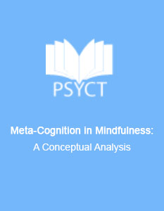 Meta-Cognition in Mindfulness: A Conceptual Analysis